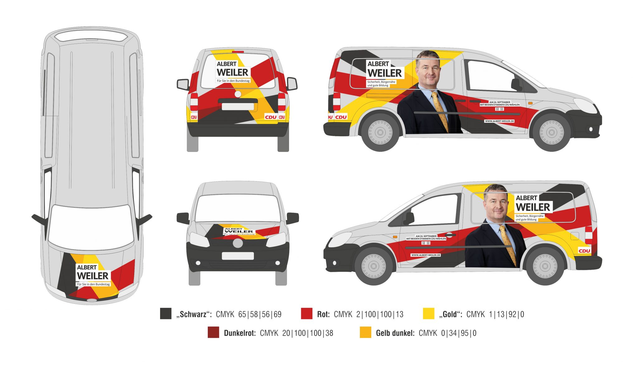 Weiler Albert CDU VW Caddy_NEU