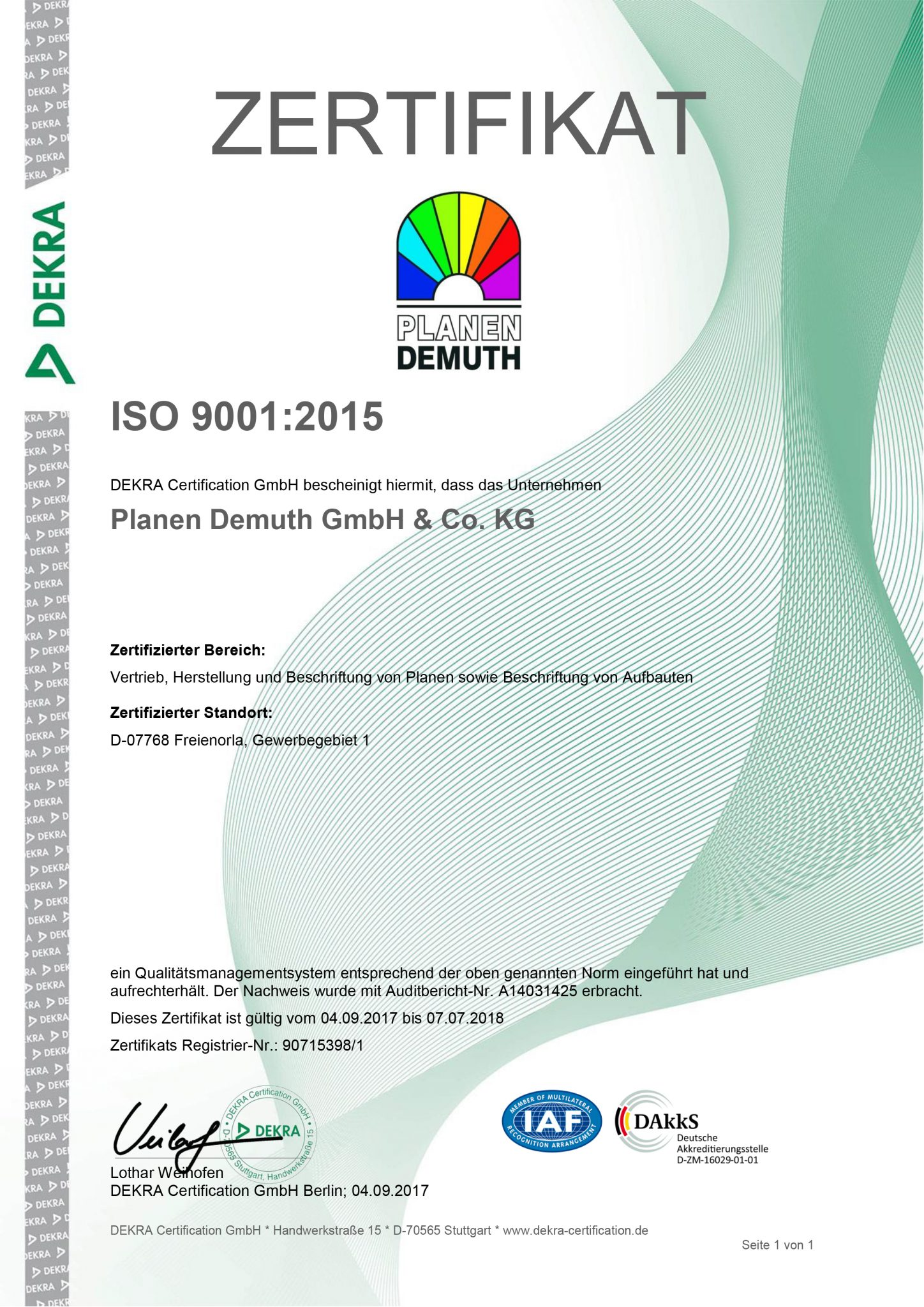 Zertifikat ISO 9001-2015_Demuth